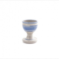 egg cup  blue
