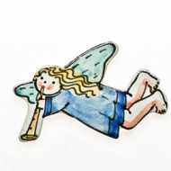 fridge magnet angel