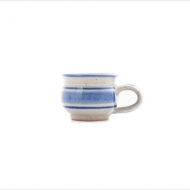 espresso cup wide-bottomed  blue
