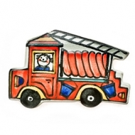 fridge magnet fire engine