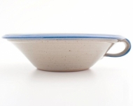 greek bowl large  blue