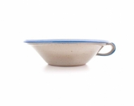 greek bowl small  blue