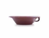 greek bowl small  brown