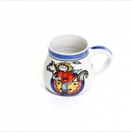 kid`s cup with name