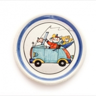 children`s plate car
