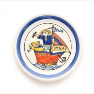 children`s plate pirate