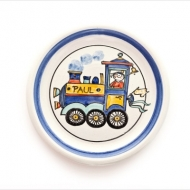 kid`s plate with name