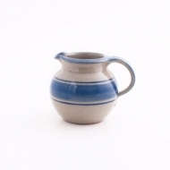 pot bellied jug I  blue
