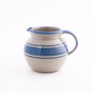 pot bellied jug II  blue