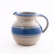 pot bellied jug III  blue