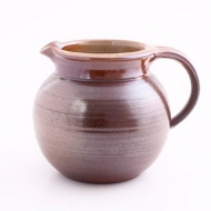 pot bellied jug III  brown