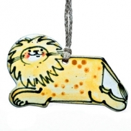 gift tag lion