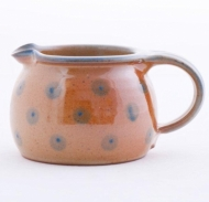 milk pot large  brown