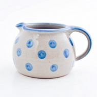 milk pot medium  blue