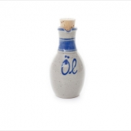 oil bottle small  blue