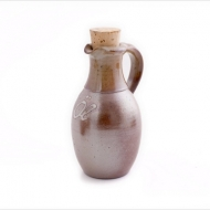 oil bottle small  brown