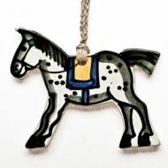 gift tag horse