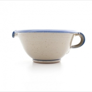 cream bowl 2  blue