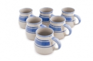 set 6 beakers with handle large