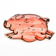 fridge magnet pig