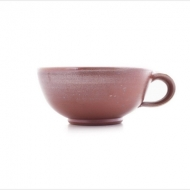 teacup open  brown