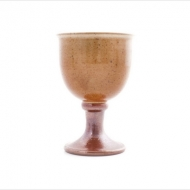 wine goblet  brown