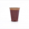 beaker small  brown