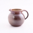 pot bellied jug I  brown