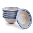 set 6 muesli bowls medium