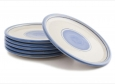 set 6 pizza plates