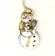 gift tag snowman